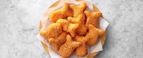 黃金和風鱈魚塊(10個)