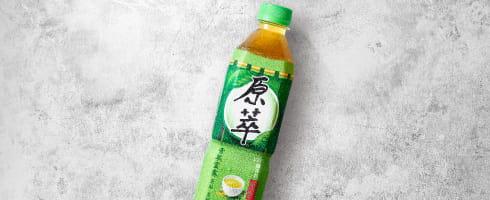 原萃綠茶580ml
